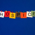 Hospice -  sign for medical fitness and health care